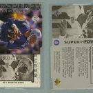 1998 Upper Deck Super Powers Die Cut Silver # S11 DREW BLEDSOE #d 0803 of 2000 -- MINT