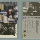 1998 Upper Deck Super Powers Die Cut Silver # S27 TIM BROWN #d 1075 of 2000 -- MINT