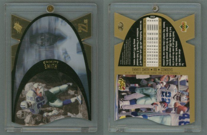 1997 SPx Gold # 34 EMMITT SMITH -- MINT