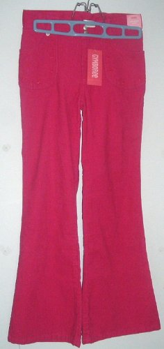 NWT GRL GYMBOREE TYROLEAN LURE FLAMING PINK CORDS SZ 8