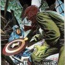 Marvel Masterpieces #5-D Captain America vs Red Skull