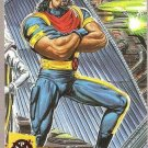 1994 Ultra X-Men Team Triptych Card #6 Bishop Gold Team
