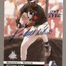 1994 Classic Autographs #AU4 Rondell White 1107/2880