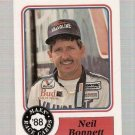 1988 Maxx Racing Card #20 Neil Bonnett Rookie