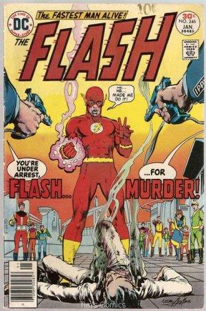 Flash (1959 series) #246 DC Comics 1977 GD/VG