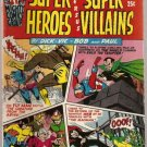 Super Heroes versus Super Villains #1 Archie 1966 FN-