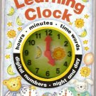 Learning Clock by Moira Butterfield, Christine Howe