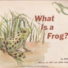 What is a Frog? by Gene Darby Softcover
