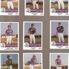 1986 Nashville Sounds Team Issue Baseball Card Set