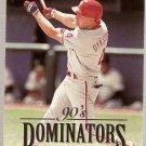 1994 Donruss Dominators Jumbos #B9 Len Dykstra
