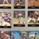 Lot of 14 1991 Leaf Gold Rookies Baseball Cards