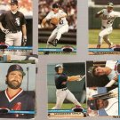 Lot of 16 1991 Stadium Club Members Only Baseball Cards