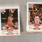 1990-91 Fleer Basketball Card Complete Basic Set
