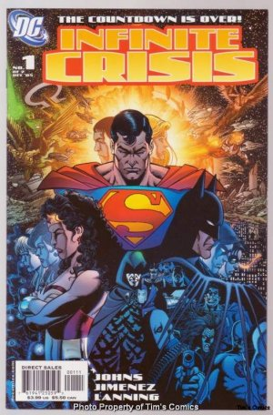 Infinite Crisis #1 George Perez Cover DC 2005 Near Mint
