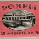 Pompei Impressioni Dal Vero 20 Miniature Photo Views