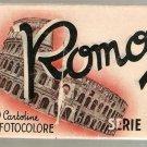 Roma 20 Cartoline in Fotocolore Serie II 18 Postcards