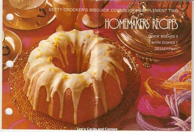 Betty Crocker's Bisquick Cookbook Homemakers' Recipes
