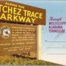 Along the Natchez Trace Parkway Souvenir Folder