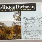 Blue Ridge Parkway Virginia North Carolina Souvenir Folder