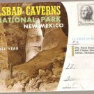 Carlsbad Caverns National Park NM Souvenir Folder