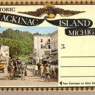 Historic Mackinac Island Michigan Souvenir Folder