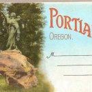 Portland Oregon Souvenir Folder 1925