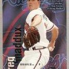 1996 Fleer Circa Baseball Card #105 Greg Maddux