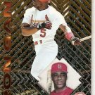 1997 Pacific Prisms Baseball Card #138 Ron Gant
