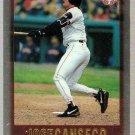 1997 Topps Chrome Baseball Card #87 Jose Canseco