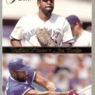 1994 Flair Outfield Power Baseball Card #3 Joe Carter