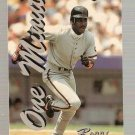 1994-95 Assets Phone Cards One Minute #26 Barry Bonds