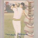 1995 Classic Five Sport Autographs #102 Mark Farris