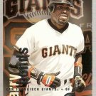 1996 Fleer Circa Baseball Card #192 Barry Bonds