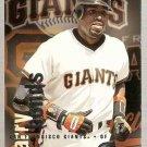 1996 Fleer Circa Baseball Card #192 Barry Bonds