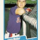 1990 Fleer Baseball Card #363 Larry Walker RC
