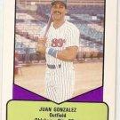 1990 ProCards AAA #690 Juan Gonzalez Baseball Card