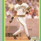 1990 Score Baseball Card #4 Barry Bonds NM