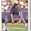 1990 Upper Deck Baseball Card #466 Larry Walker RC