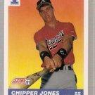 1991 Score Baseball Card #671 Chipper Jones RC NM