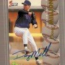 1995 Classic Five Sport Autographs #117 Doug Million