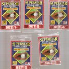 Lot of 5 1990 Starline Long John Silver Unopen Packs