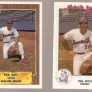 Lot of 2 Paul Noce Baseball Cards Nashville Sounds