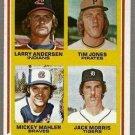 1978 Topps Baseball Jack Morris RC #703 EX