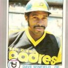 1979 Topps Baseball Card #30 Dave Winfield GD