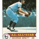 1979 Topps Baseball Card #330 George Brett EX