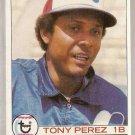 1979 Topps Baseball Card #495 Tony Perez NM