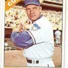 1966 Topps #372 Harvey Kuenn Baseball Card Chicago Cubs VG