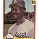 1982 Donruss Baseball Card #410 Dave Stewart RC