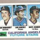 1982 Topps Baseball Card #653 Tom Brunansky RC