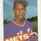 1985 Topps Baseball Card #620 Dwight Gooden RC VG